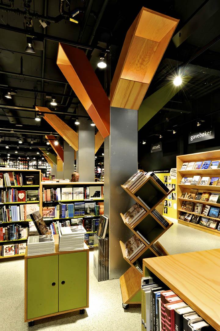 Tanum Karl Johan bookstore by JVA Oslo 07 Tanum Karl Johan bookstore flagship by JVA, Oslo