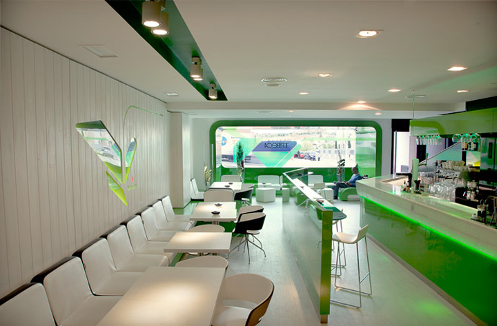 Tribeca Heineken restaurant bar by Lab matic Madrid Tribeca Heineken restaurant & bar by Lab matic, Madrid