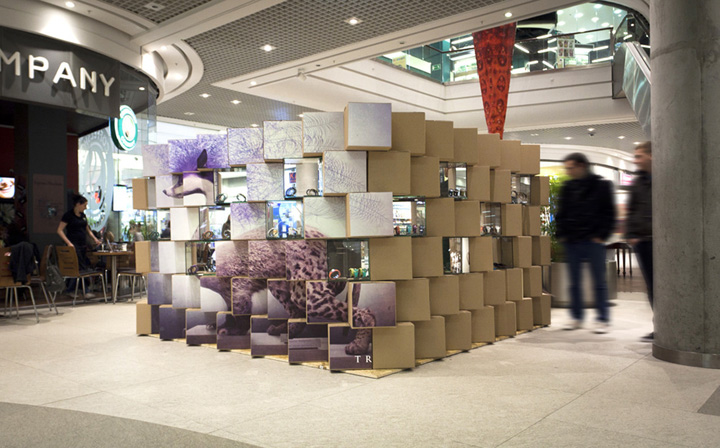 creative ceiling architectural design ideas - POP UP Triwa Pop up store Poznan – Poland Retail