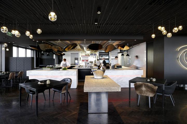 Vue de monde flagship restaurant by elenberg fraser