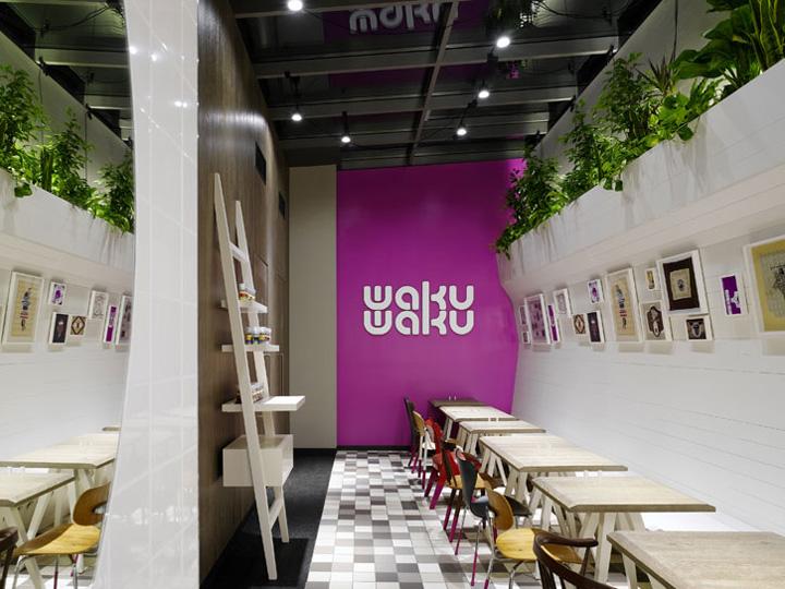 Waku eco restaurant by ippolito fleitz group hamburg