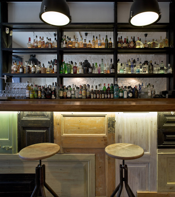 Bobby Gin cocktail bar by Normal » Retail Design Blog