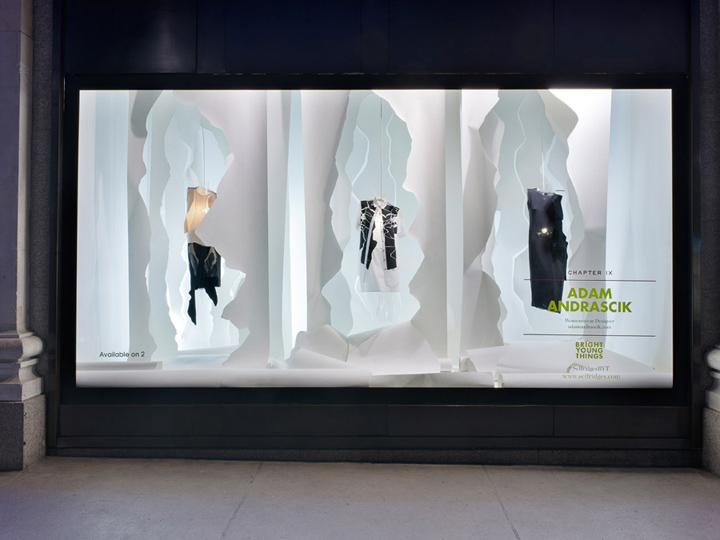 Influence of visual merchandising on young
