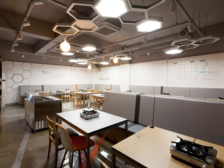 Restaurant Kitchen Lighting budae jijgae restaurantm4 design, seoul » retail design blog