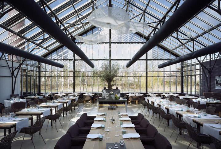 De Kas Restaurant Amsterdam Retail Design Blog