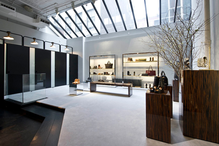 Diesel black gold store by ryan korban new york retail for Black and gold interior design