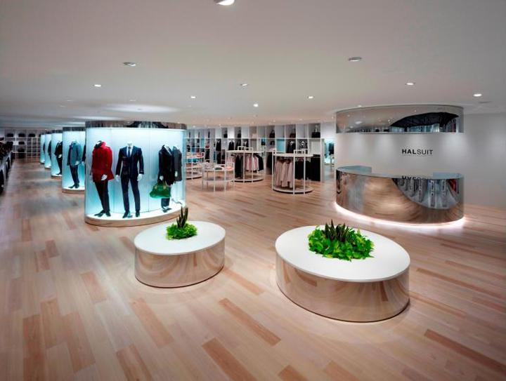 Halsuit Store By Nendo Okayama 187 Retail Design Blog