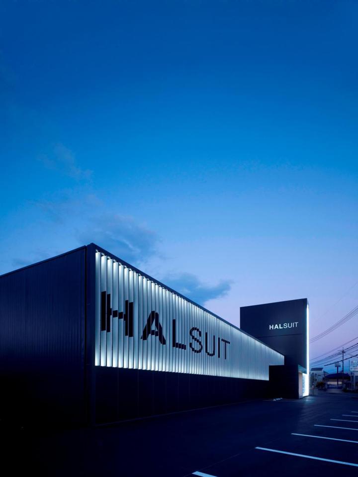 Halsuit Store By Nendo Okayama Retail Design Blog