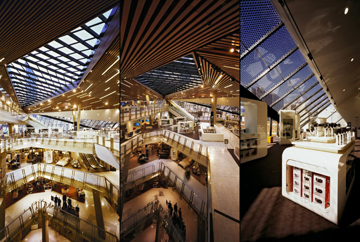 Myer department store Peddle Thorp Architects 23 Myer department store by Peddle Thorp Architects, Melbourne