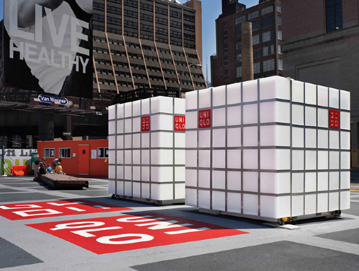 POP UP UNIQLO Pop Up Store by HWKN New York 02 POP UP! UNIQLO Pop Up Store by HWKN, New York