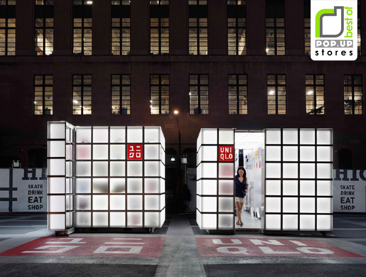 POP UP UNIQLO Pop Up Store by HWKN New York POP UP! UNIQLO Pop Up Store by HWKN, New York