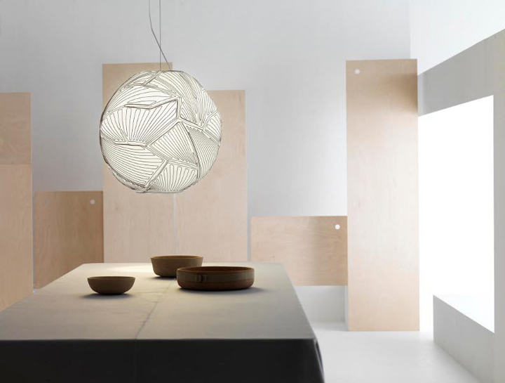 187 Planet Pendant Light By Foscarini