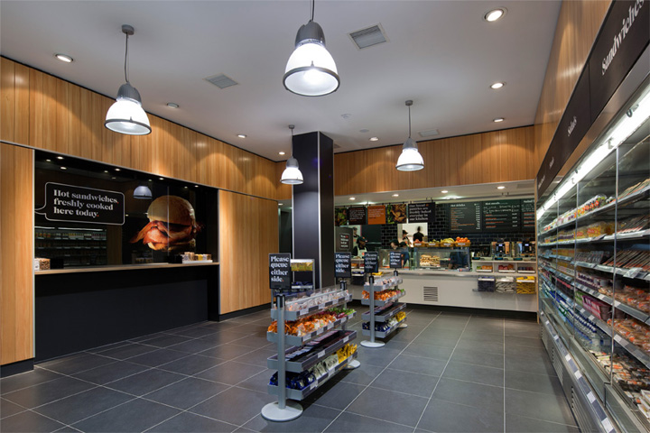 fresh kitchen designs. A  Sainsbury s Fresh Kitchen branding store design by Twelve Studio