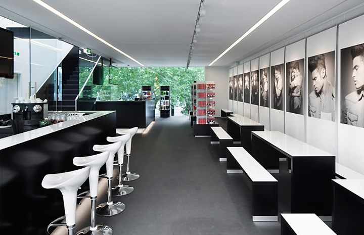 pop up schwarzkopf lightbox by hpp architects d sseldorf retail design blog. Black Bedroom Furniture Sets. Home Design Ideas