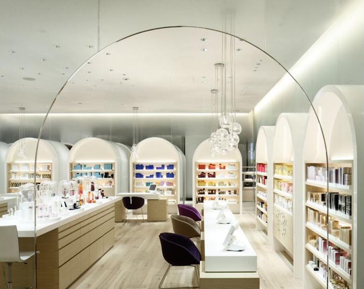 Shiseido The Ginza by Klein Dytham 02 Shiseido The Ginza by Klein Dytham Architects, Ginza