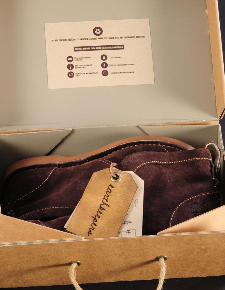 Timberland Sustainable Shoebox by Katelyn Peissig
