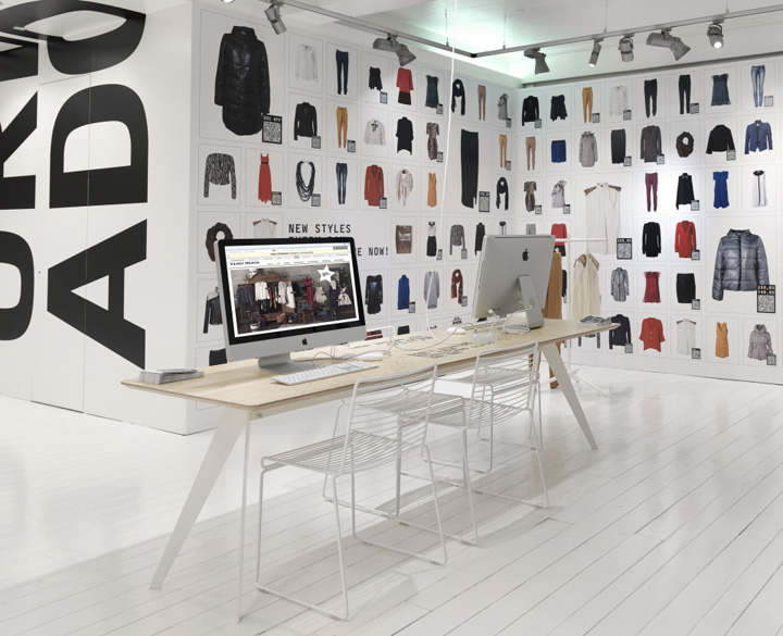 Vero moda online pop up store aarhus denmark for Design online shop