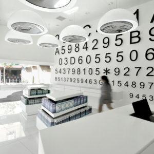 7c117db240 Adashot contact lens store by Miss Lee Design, Tel Aviv by retail design  blog