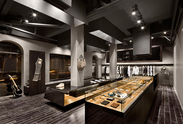 Aegis Shanghai Flagship Store By Coordination Shanghai Retail Design Blog