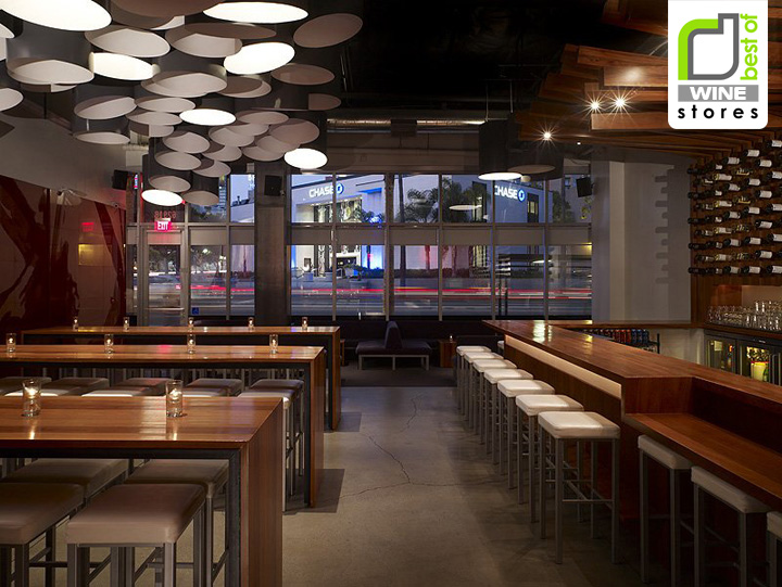WINE STORES! Bodega Wine Bar by MAKE Architecture, Hollywood