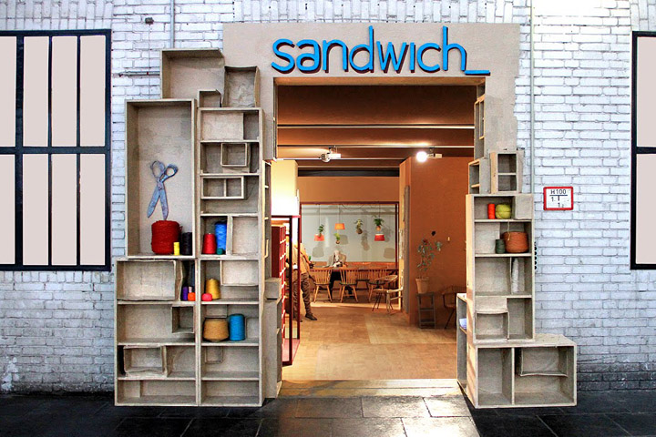 bread butter berlin 2012 sandwich retail design blog. Black Bedroom Furniture Sets. Home Design Ideas