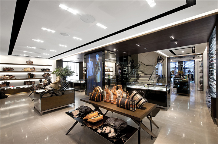 Burberry store amsterdam retail design blog Interior design shops amsterdam