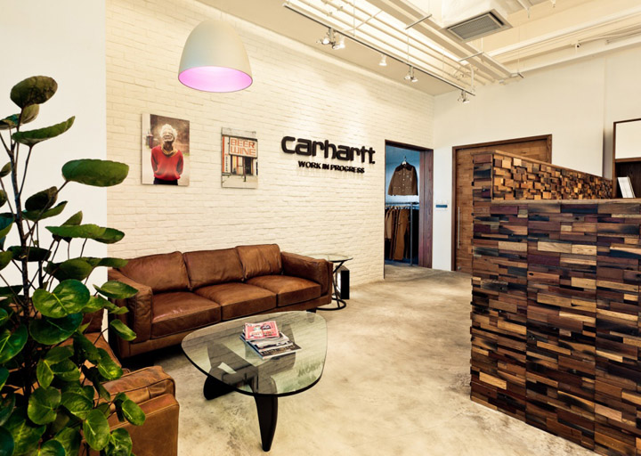 187 Carhartt Work In Progress Office And Showroom By