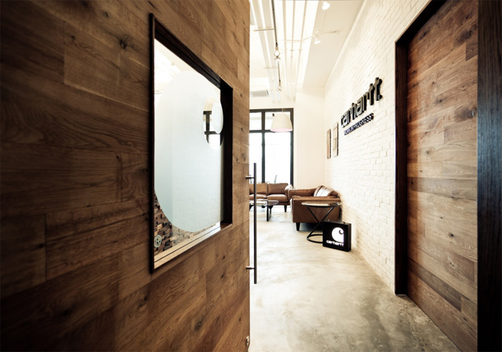 Carhartt Work In Progress Office And Showroom By Fixonic