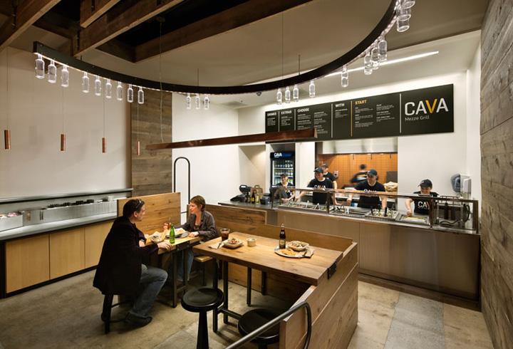 187 Cava Grill By Core Architecture Bethesda