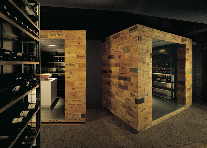 Wine celler de can roca restaurant by sandra tarruella for Design in a box interior design