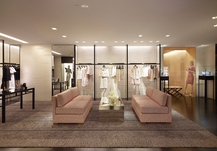 chanel store by peter marino paris 187 retail design blog