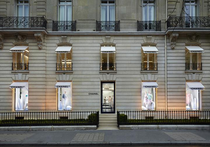 U00bb Chanel Store By Peter Marino  Paris