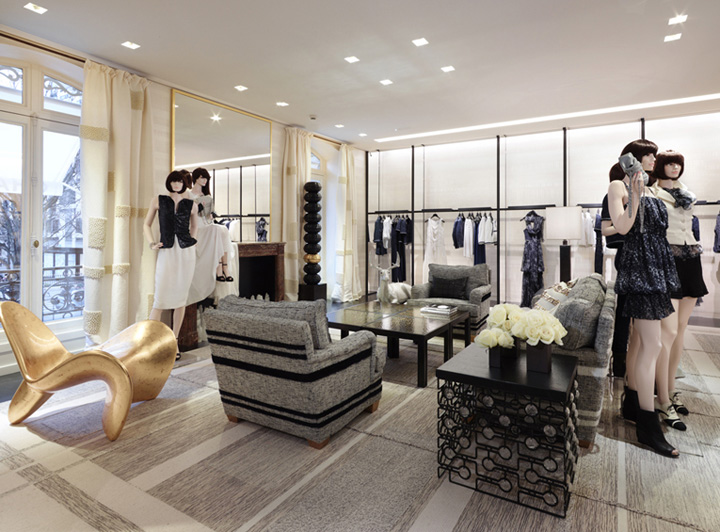 chanel store by peter marino paris retail design blog. Black Bedroom Furniture Sets. Home Design Ideas