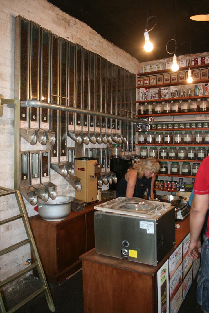 Coffee store by shahar katsav tel aviv retail design blog for Coffee shop display ideas