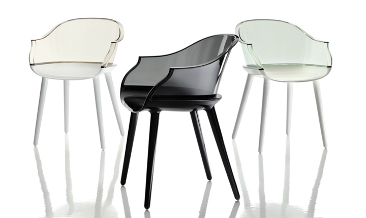 Cyborg chair by marcel wanders for magis retail design blog - Chaises transparentes design ...