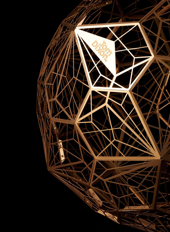 187 Etch Web Lamp By Tom Dixon