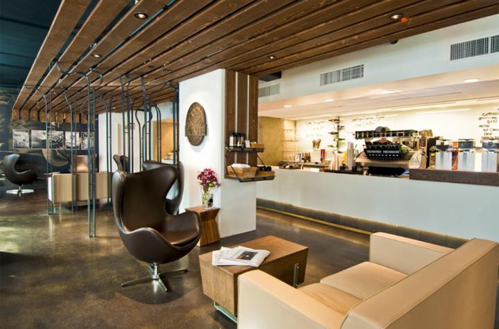 Wine stores fonte wine bar by floisand studio seattle - Restaurant interior design seattle ...