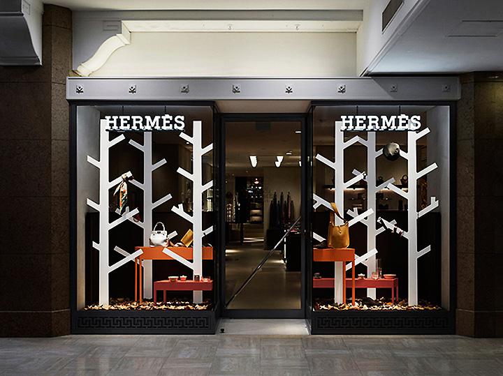 Hermés windows by Nendo Japan 04 Hermés windows by Nendo, Japan