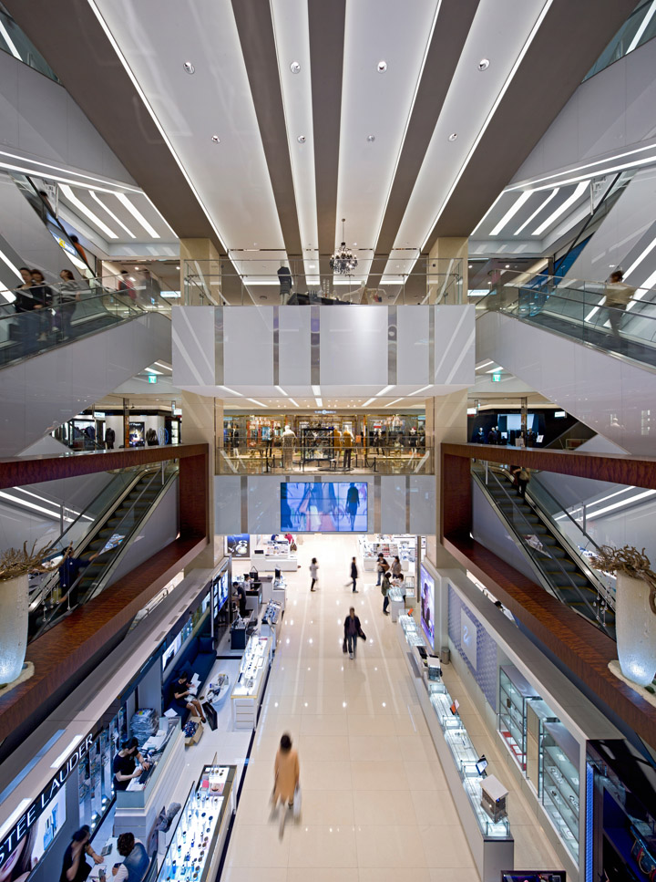 Hyundai Department Store By Rtkl Associates Daegu Korea