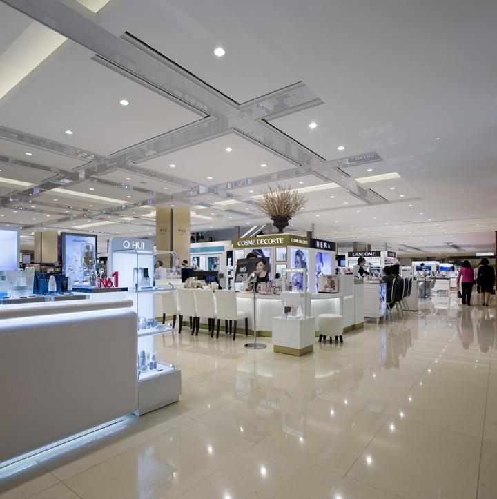 Department Stores Furniture: » Hyundai Department Store By RTKL Associates, Daegu