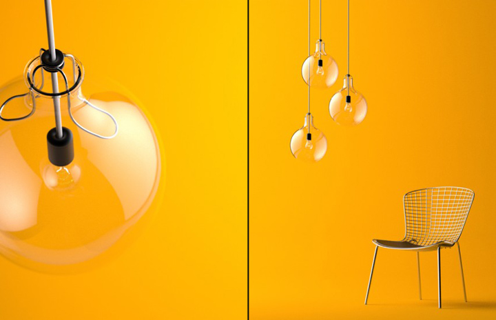 Lamp no 2 by andrew mitchell retail design blog for Lolli arredamenti
