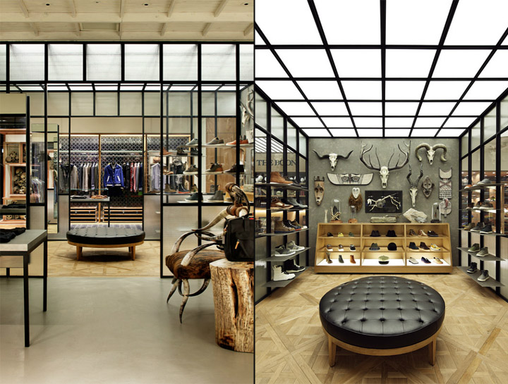 Man on the boon store by wonderwall seoul retail design - Interior design for retail stores ...