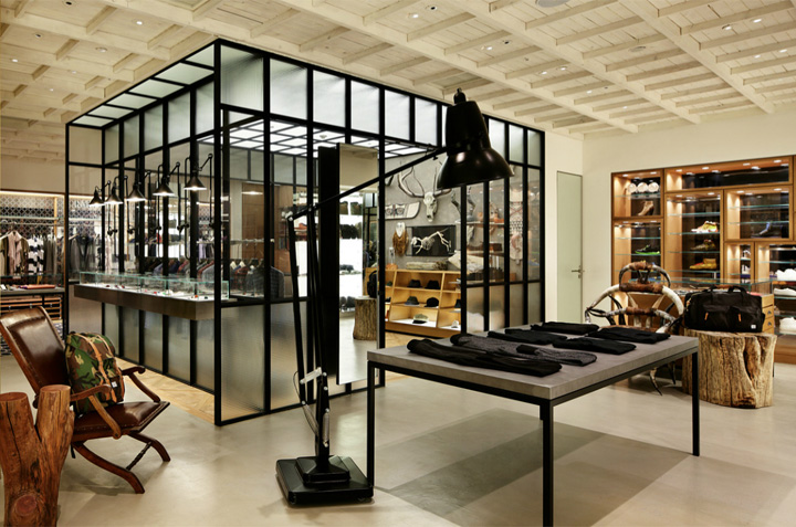 Man On The Boon Store By Wonderwall Seoul Retail Design Blog
