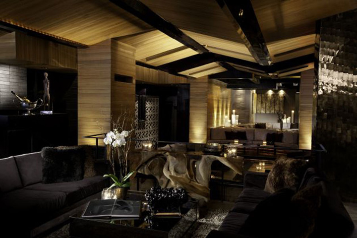 My house nightclub by dodd mitchell los angeles retail for Home designers los angeles