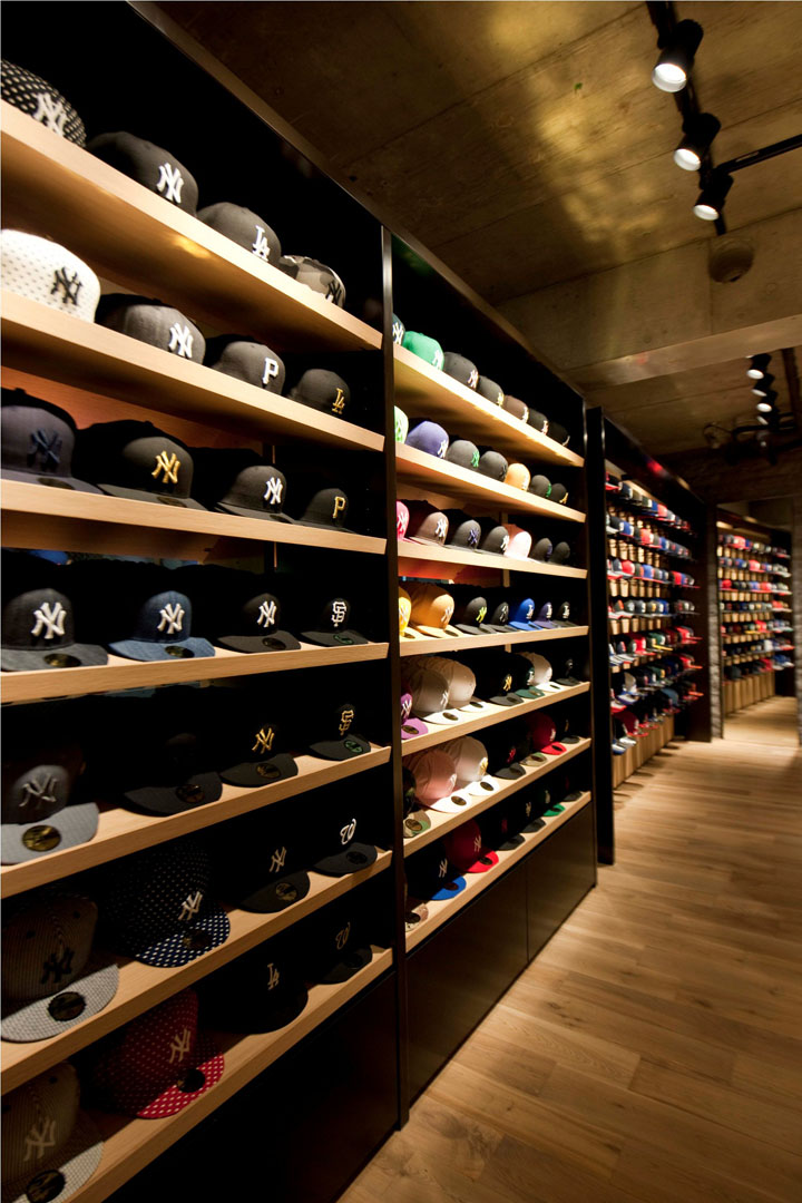 New Era Flagship Store Tokyo 187 Retail Design Blog