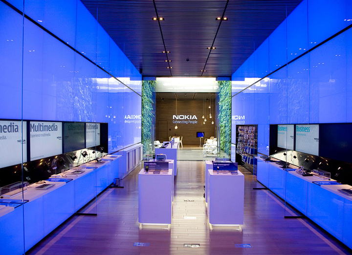 Nokia flagship store by Eight Inc Sao Paulo 02 Nokia flagship store by Eight Inc., São Paulo