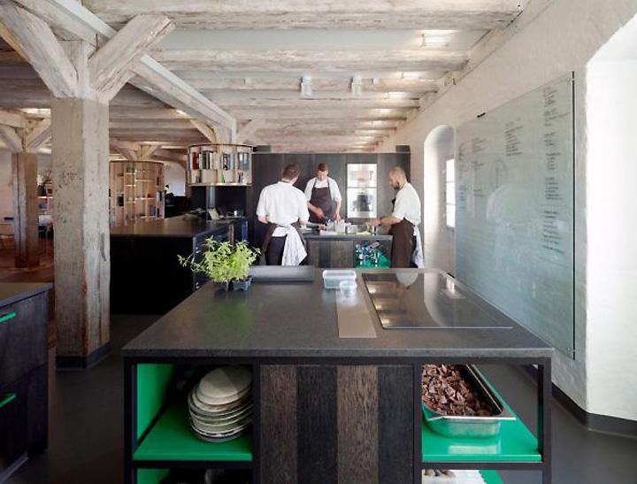 Noma Restaurant Interior Design : Noma food lab by xn architects copenhagen retail