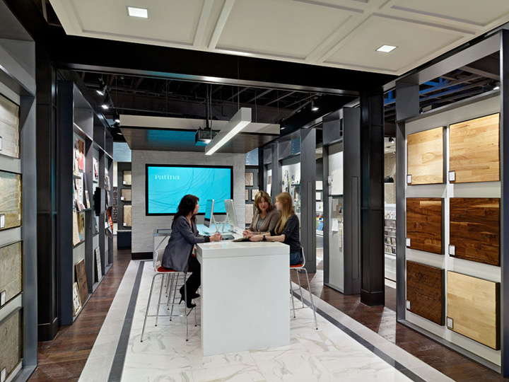 187 Patina Flooring Store By Gensler Dallas