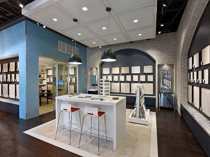 Patina Flooring Store by Envirosell Inc Dallas Patina Flooring Store by Gensler, Dallas