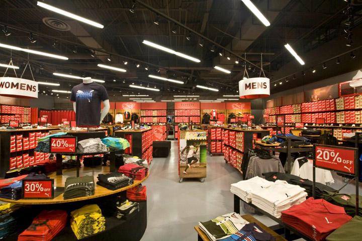 Puma Store By Nathan Lee Colkitt Architects Ontario California Retail Design Blog